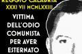 Santostefano ucciso dall'odio comunista - 31 luglio 1973